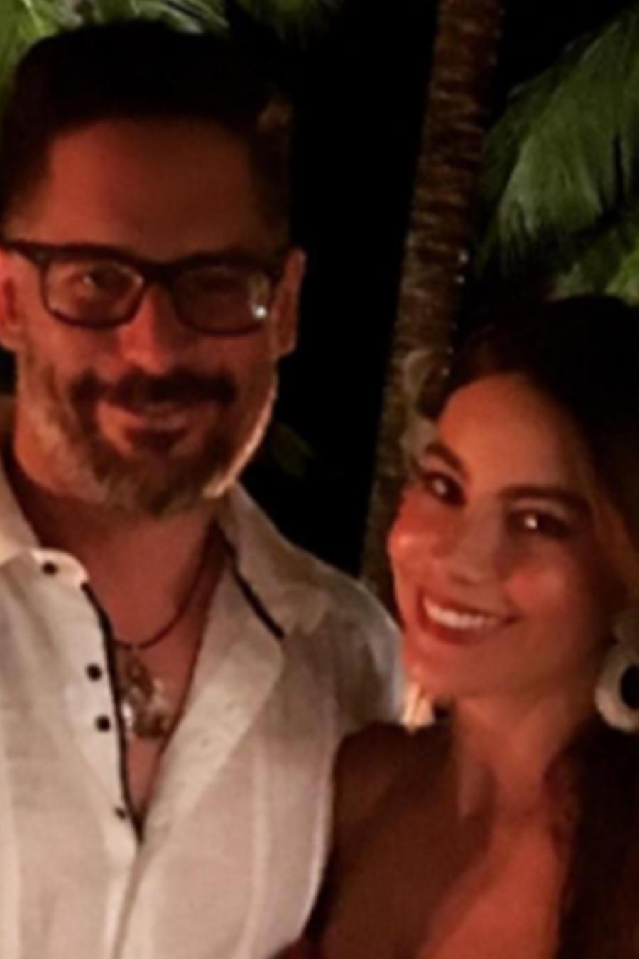 Sofía Vergara y Joe Manganiello