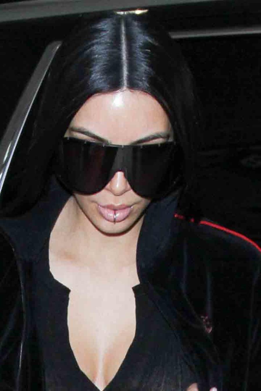 Kim Kardashian en LAX