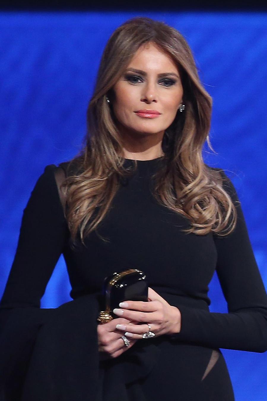 Melania Trump durante una convención Republicana en Febrero de 2016