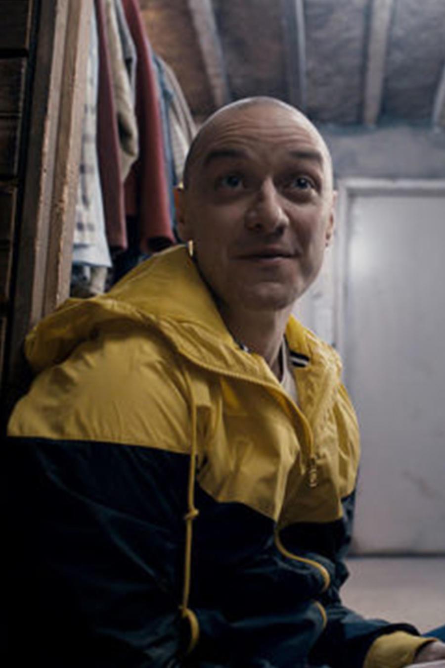 "James McAvoy en ""Split""."