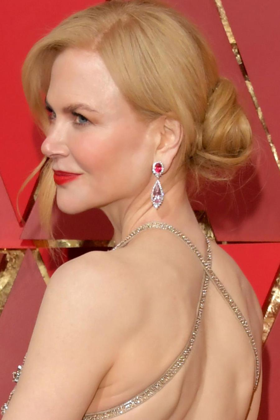 Nicole Kidman y su look en los premios Oscar 2017