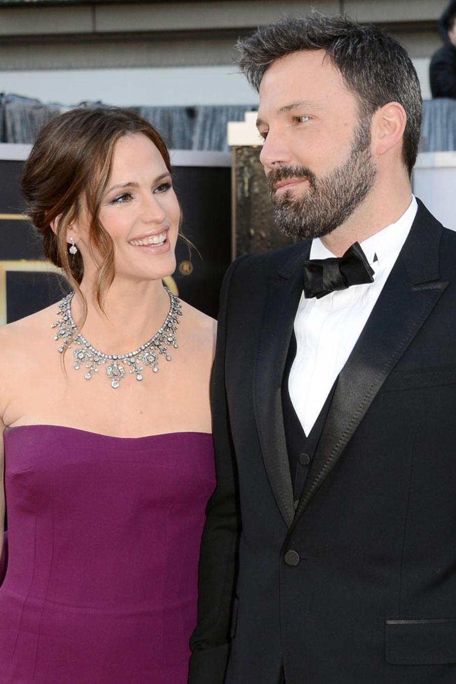 Jennifer Garner y Ben Affleck en los Premios Oscar 2013