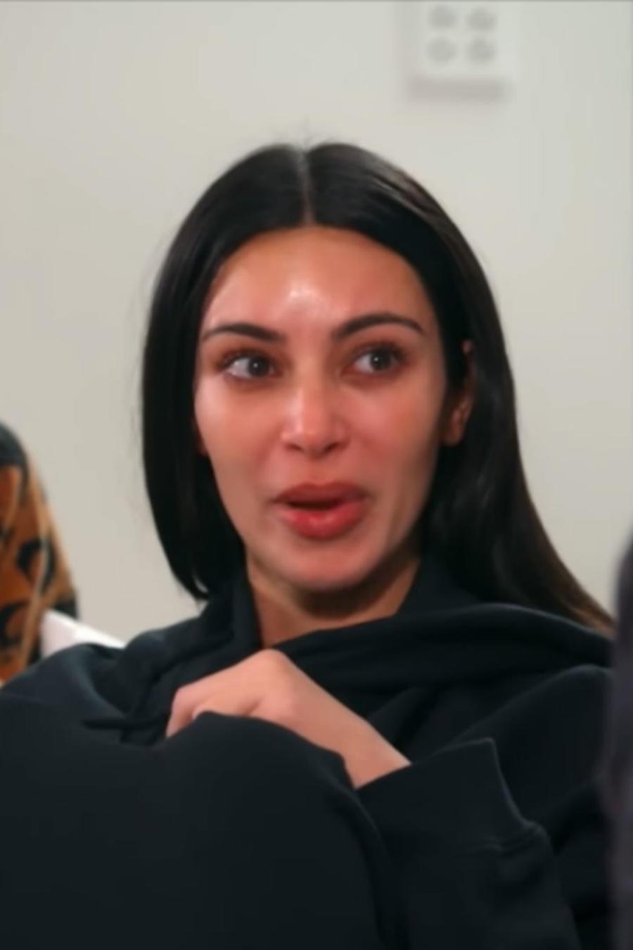 Kim Kardashian hablado con Khloe y Kourtney