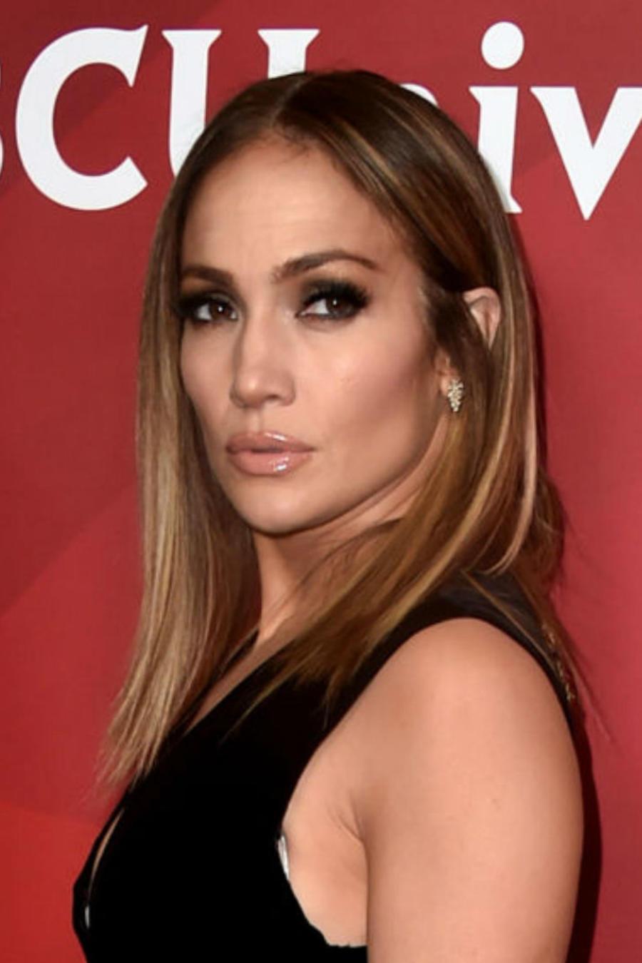 Jennifer Lopez en la rueda de prensa de verano de NBCUniversal
