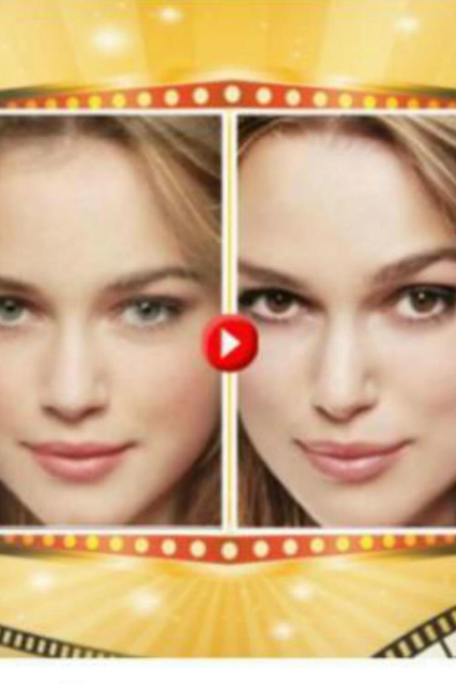 Imagen de promo en Facebook ¿A qué famoso te pareces?