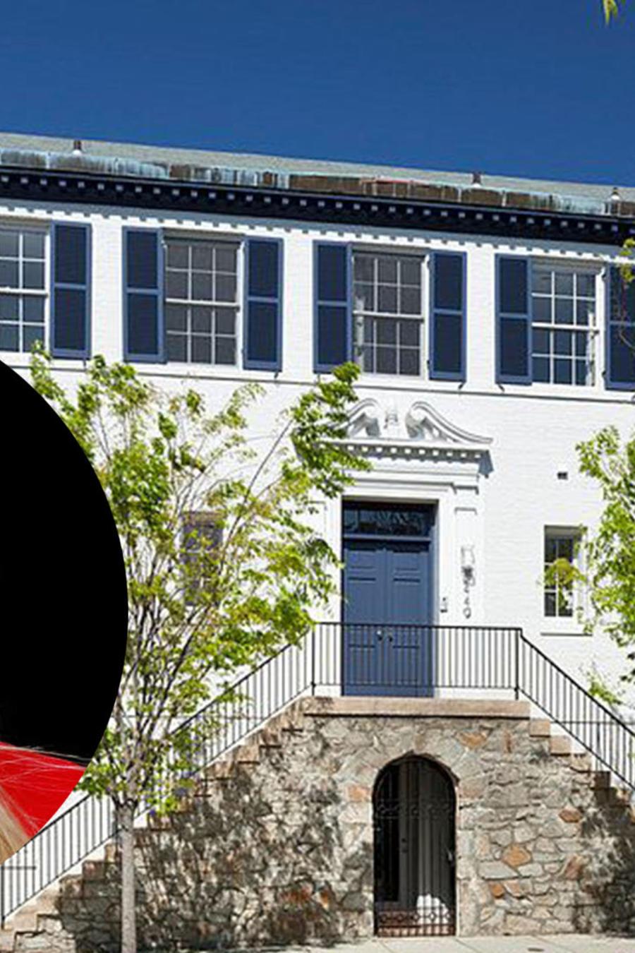 En la foto la mansión que compraron Ivanka Trump y su esposo Jared Kushner, localizada en el exclusivo barrio Kalorama en Washington D.C.
