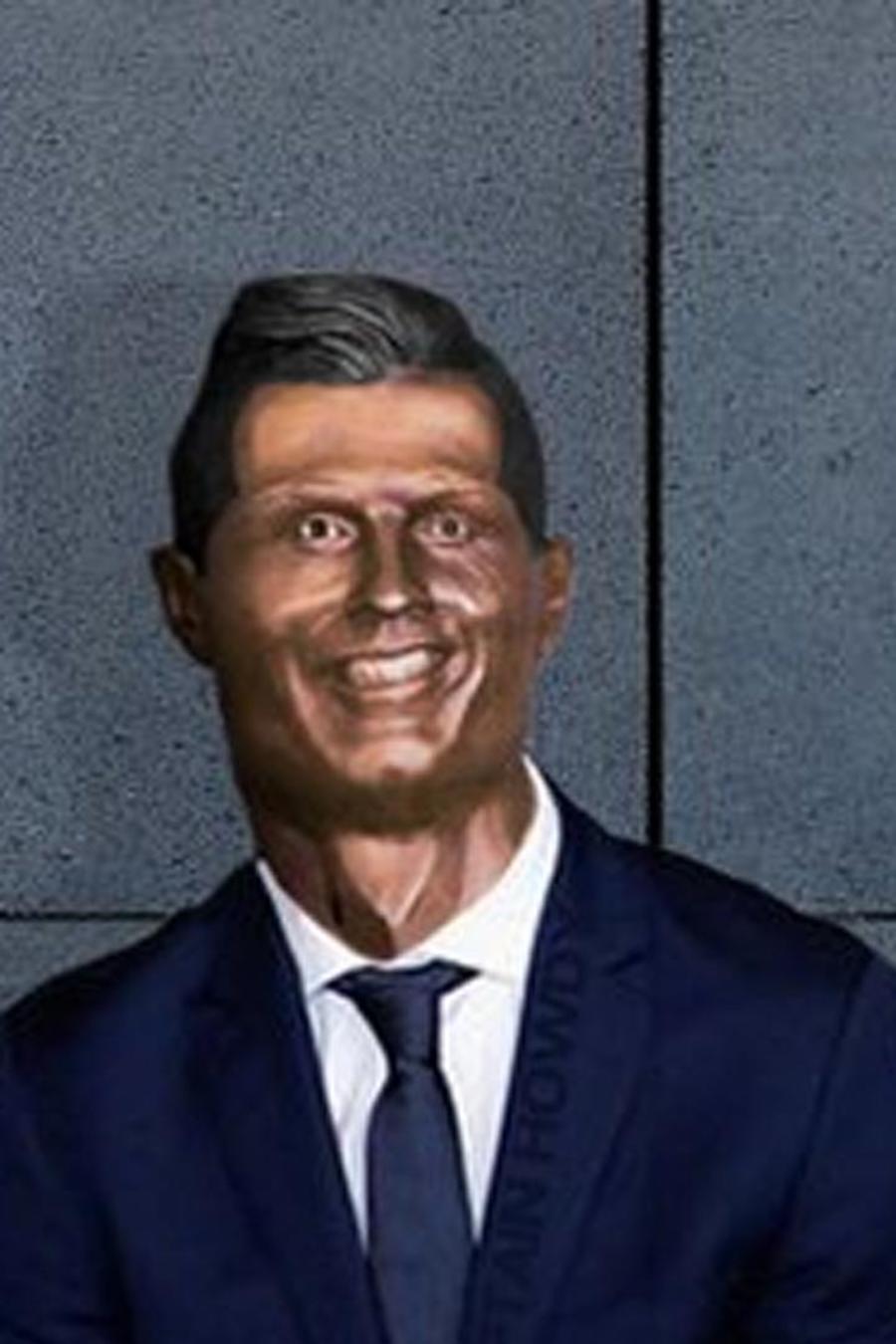 Meme busto Cristiano Ronaldo