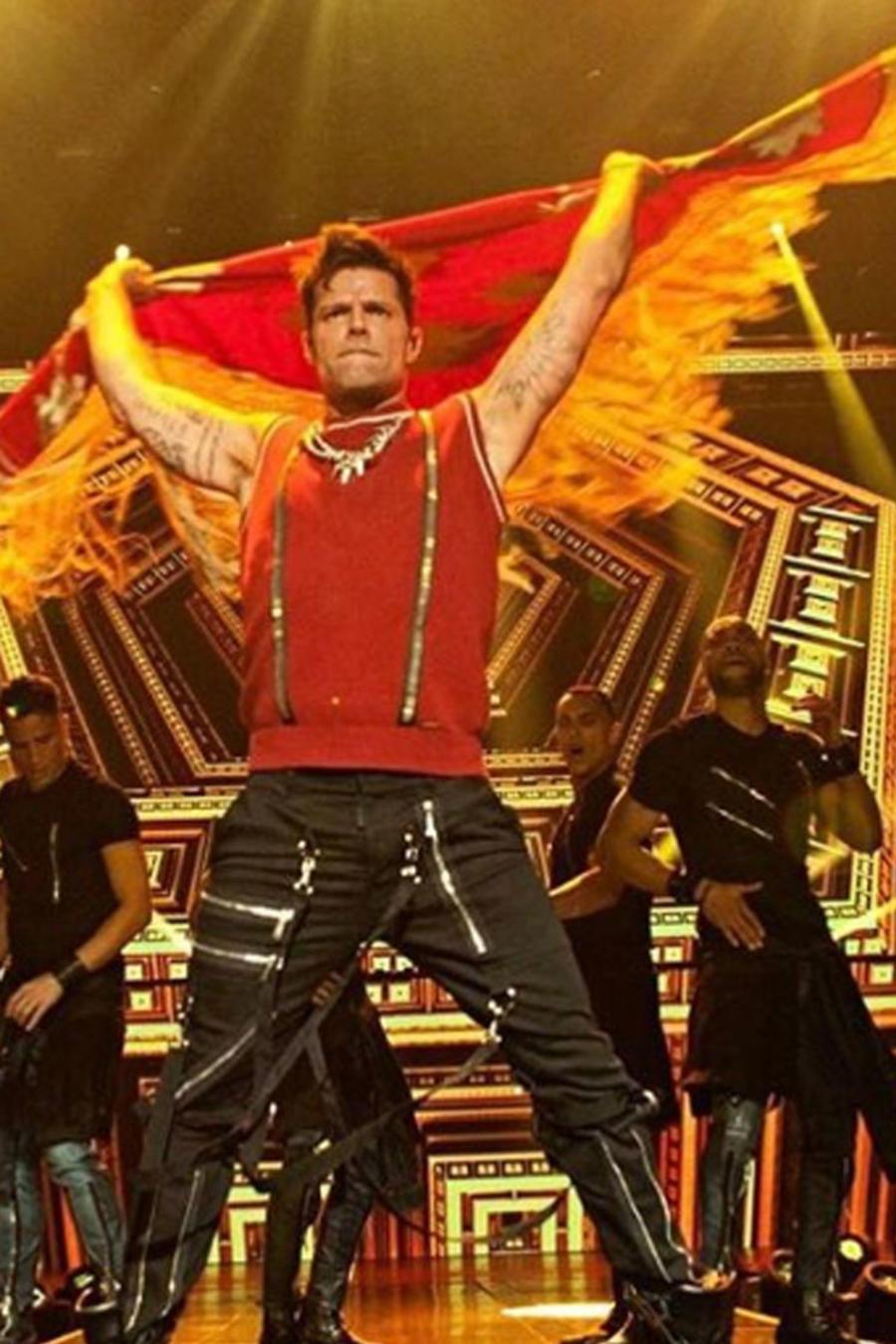 Ricky Martin y su expareja Carlos González