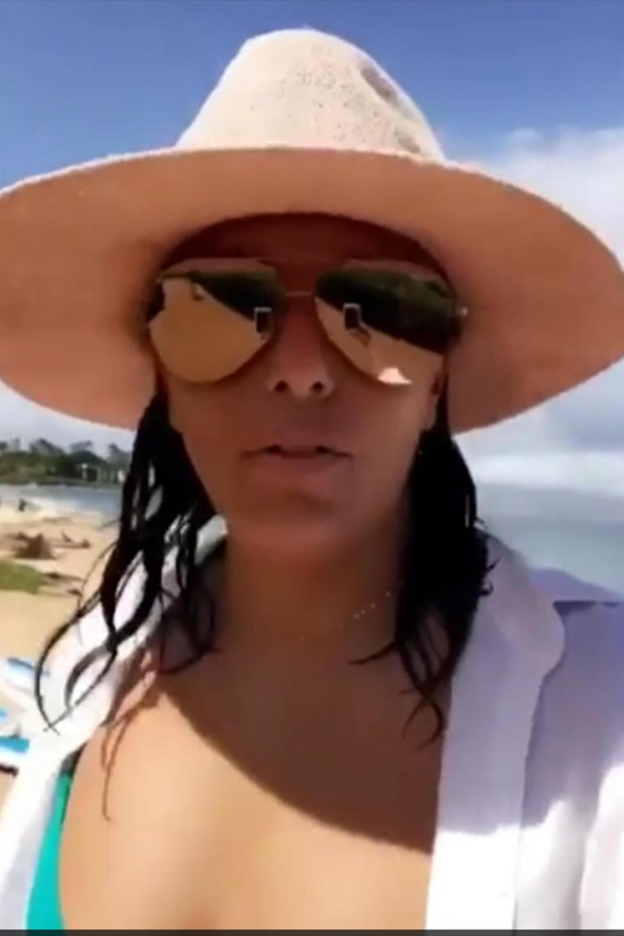 Eva Longoria en Hawái