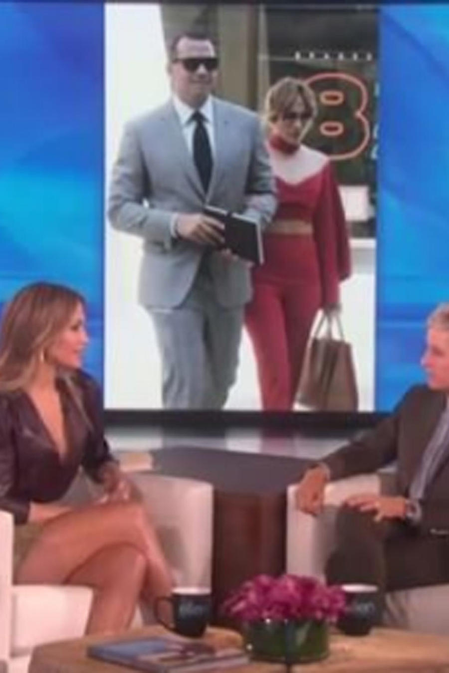 Jennifer Lopez en el show de Ellen DeGeneres