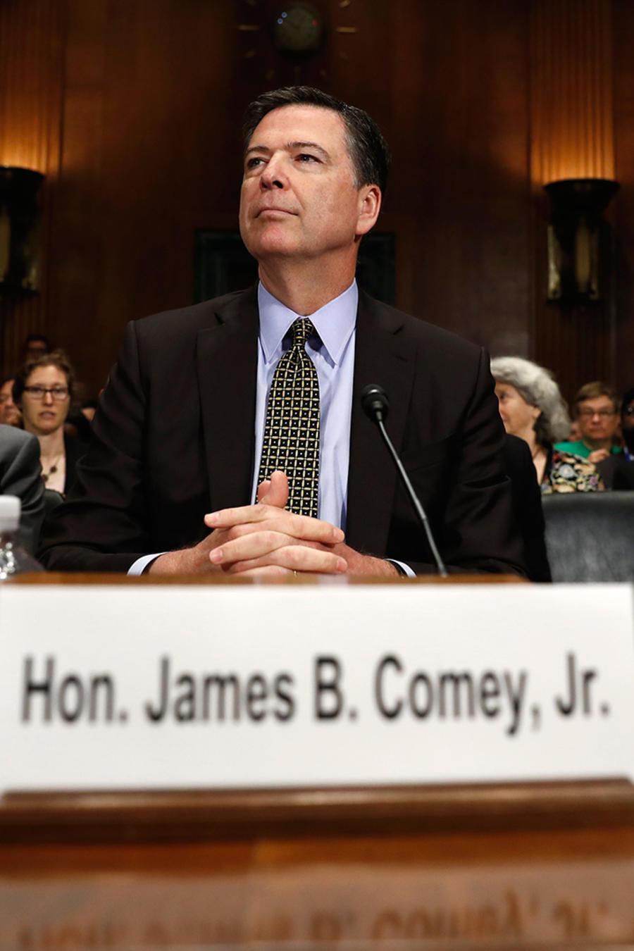 El director del FBI en audiencia ente el Comité Judicial del Senado el 3 de mayo del 2017