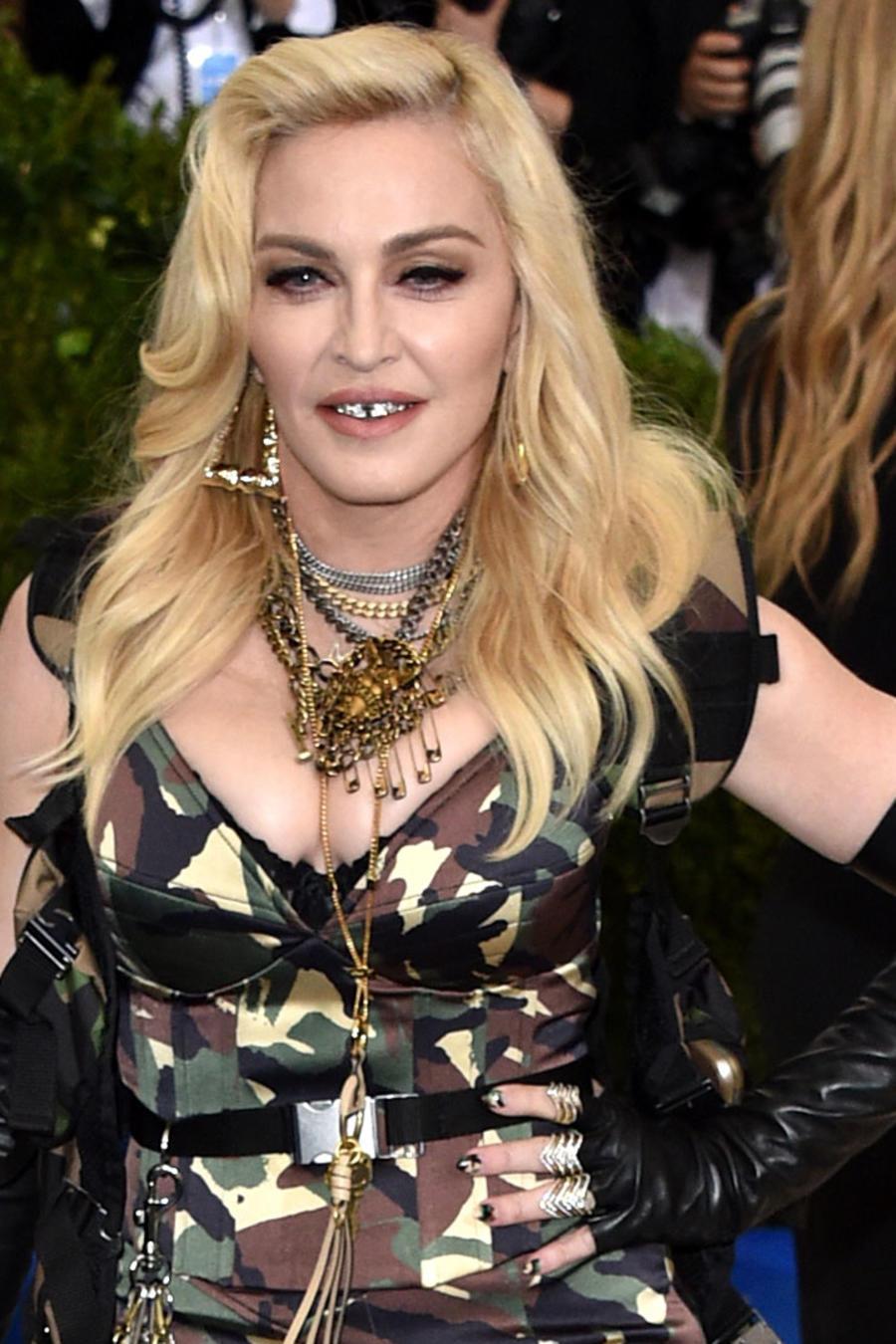 Madonna se mostró desnuda en Instagram