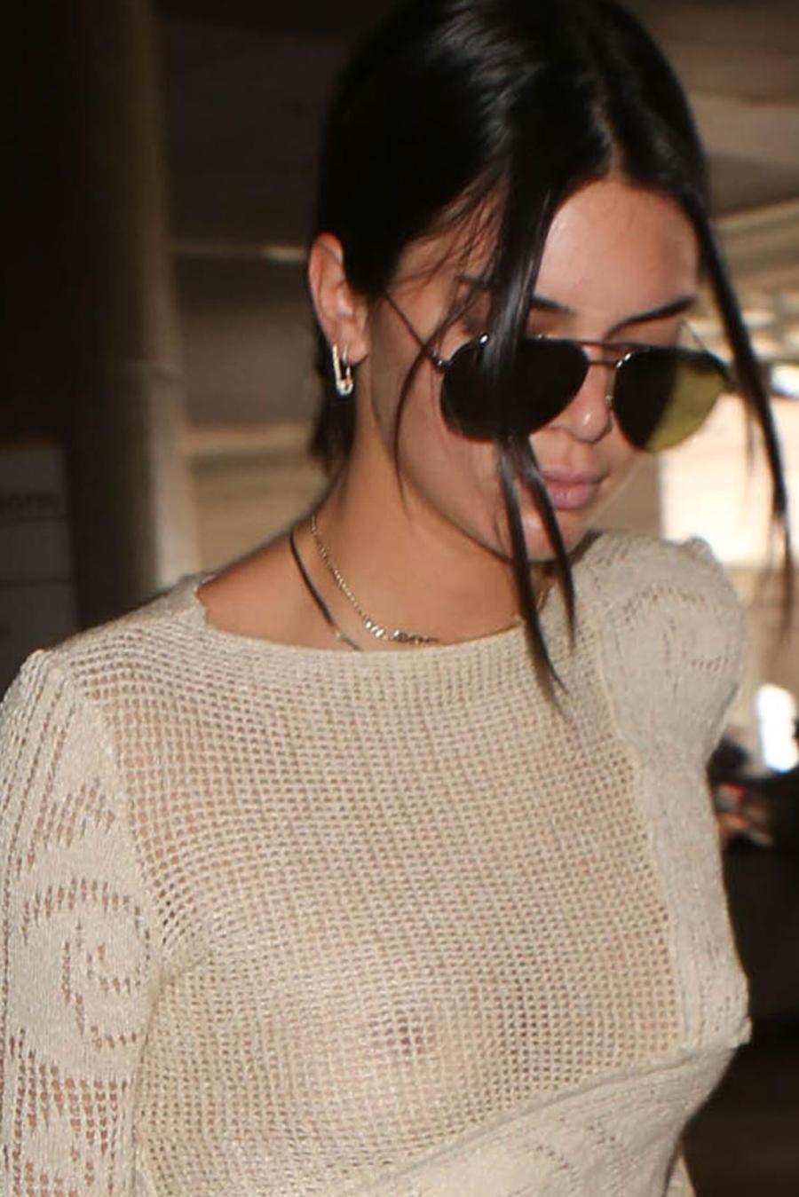 Kendall Jenner en el aeropuerto de Los Ángeles