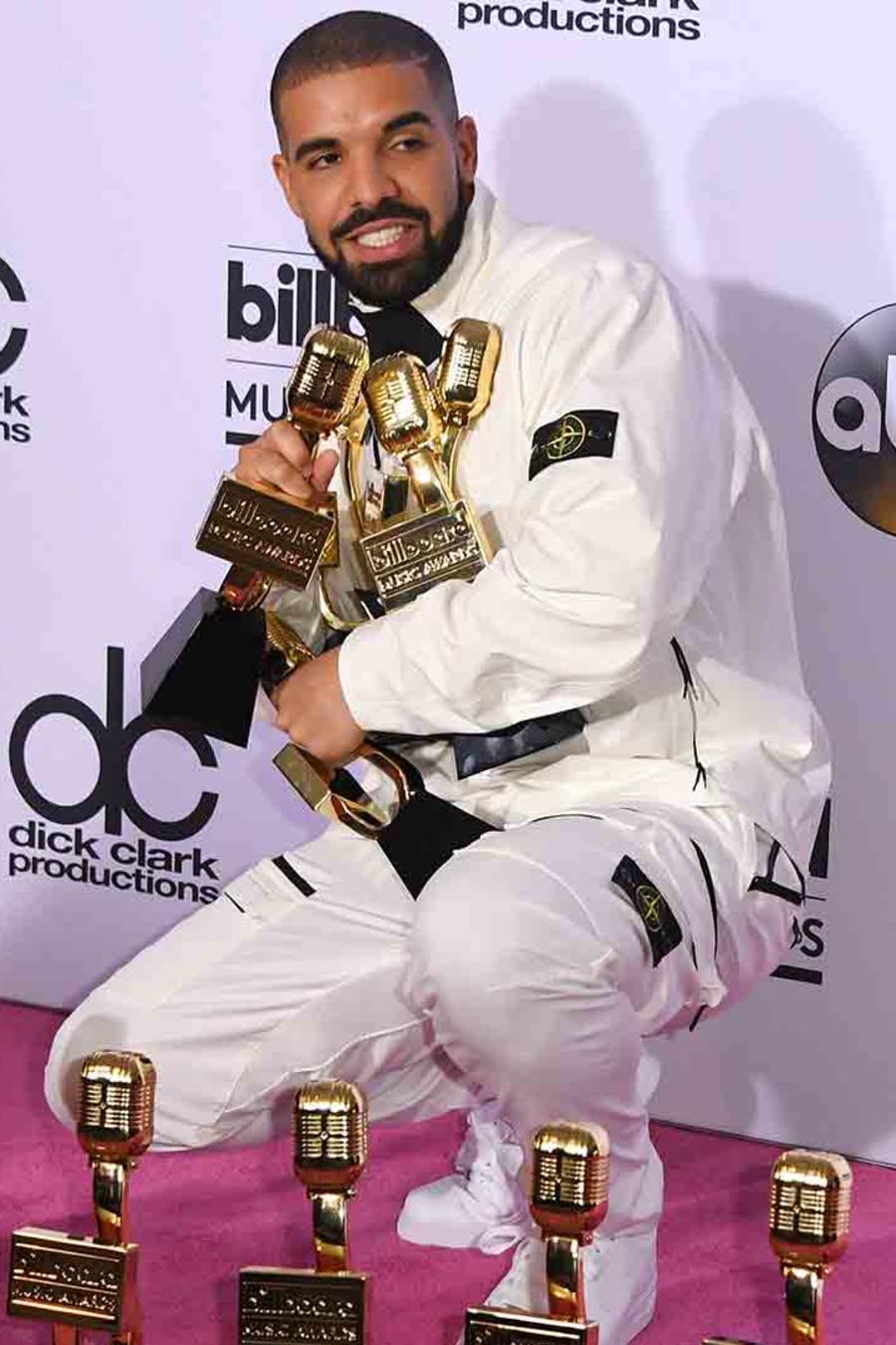 Drake en los Billboard Music Awards 2017