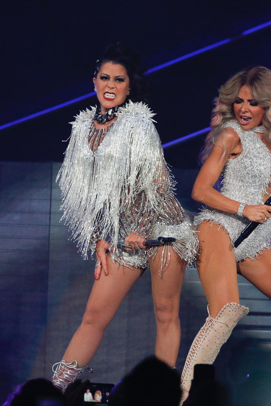 Gloria Trevi And Alejandra Guzman In Concert