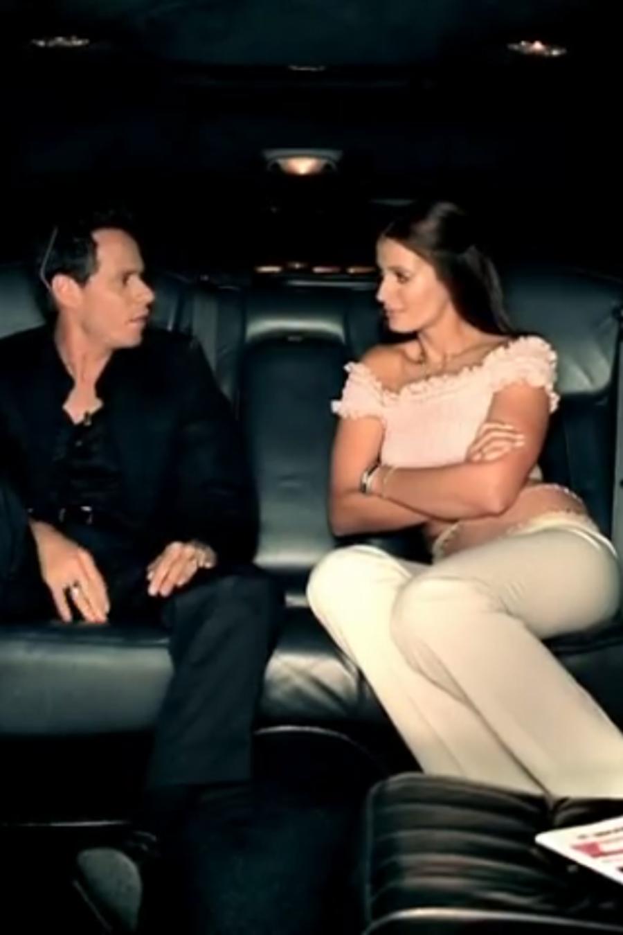Marc Anthony & Dayanara Torres en el video I've got you