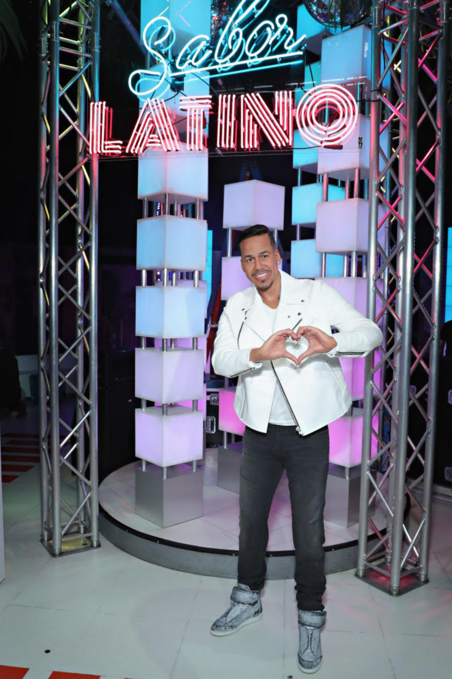 Romeo Santos Meets 'Imitadora' Wax Figure at Opening of Madame Tussauds New York's Latin Music Experience, Sabor Latino