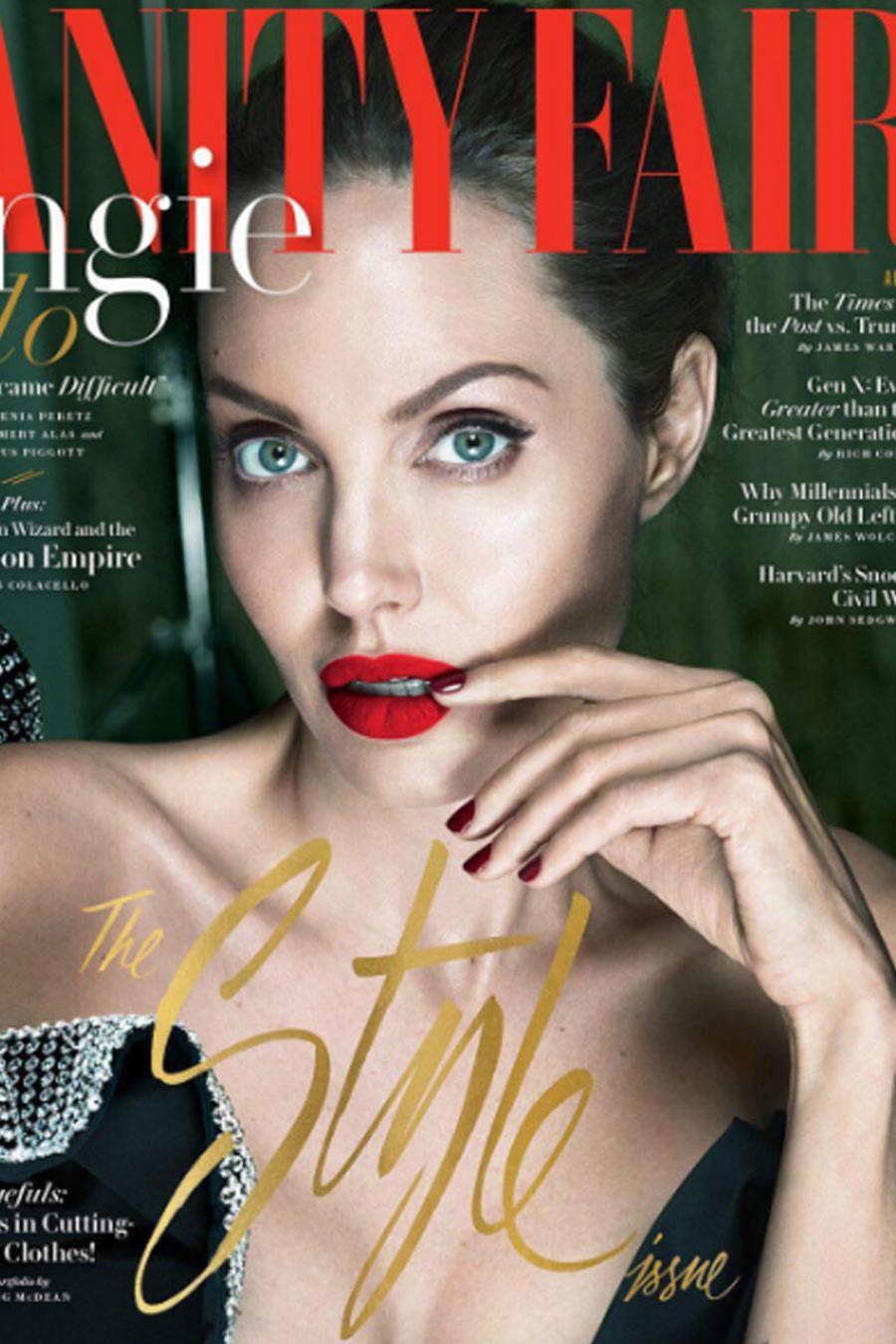Angelina Jolie habló de su divorcio