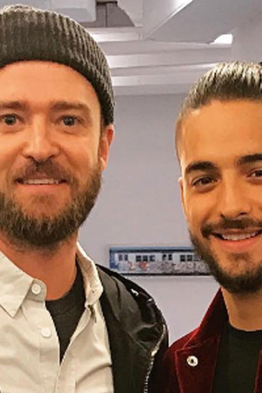 Maluma y Justin Timberlake