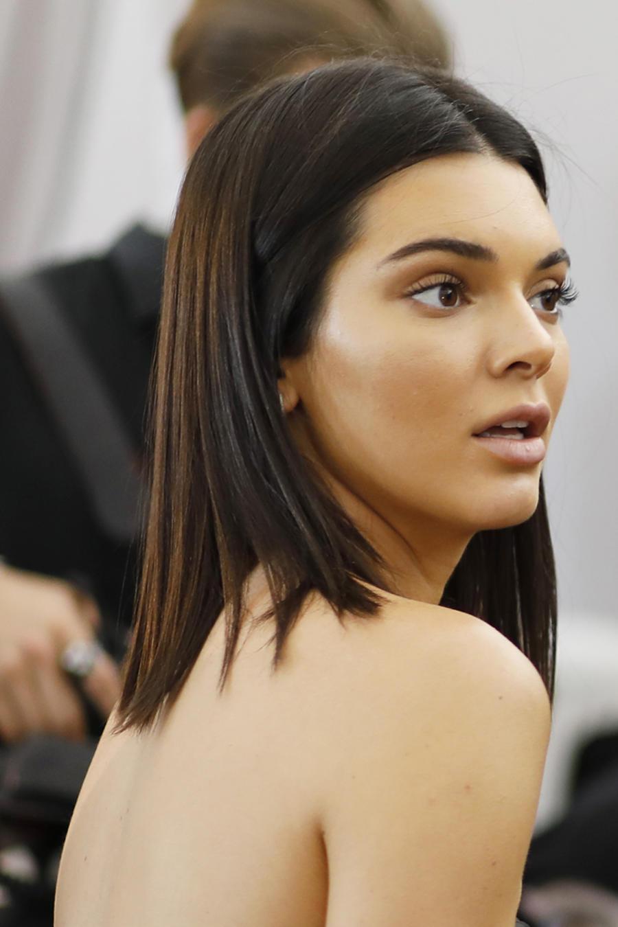 Kendall Jenner sorprendida