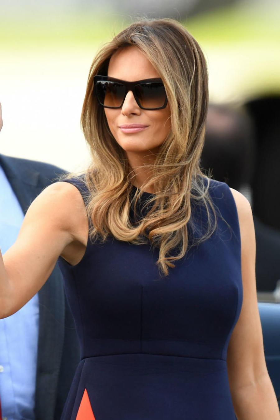 Melania Trump en Polonia
