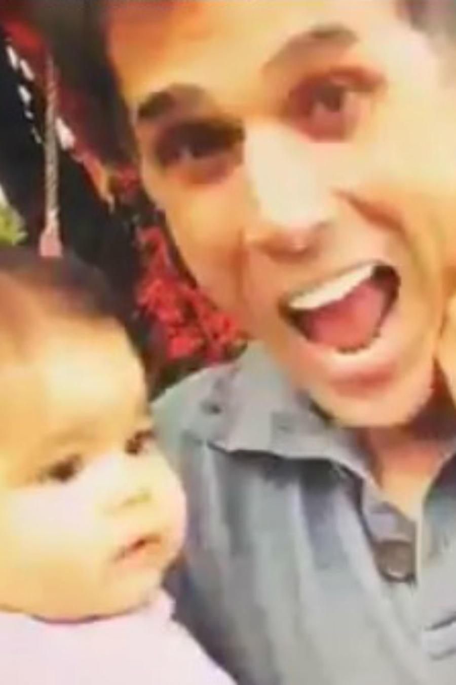 Sergio Mayer y su nieta Mila Mayer Subtil