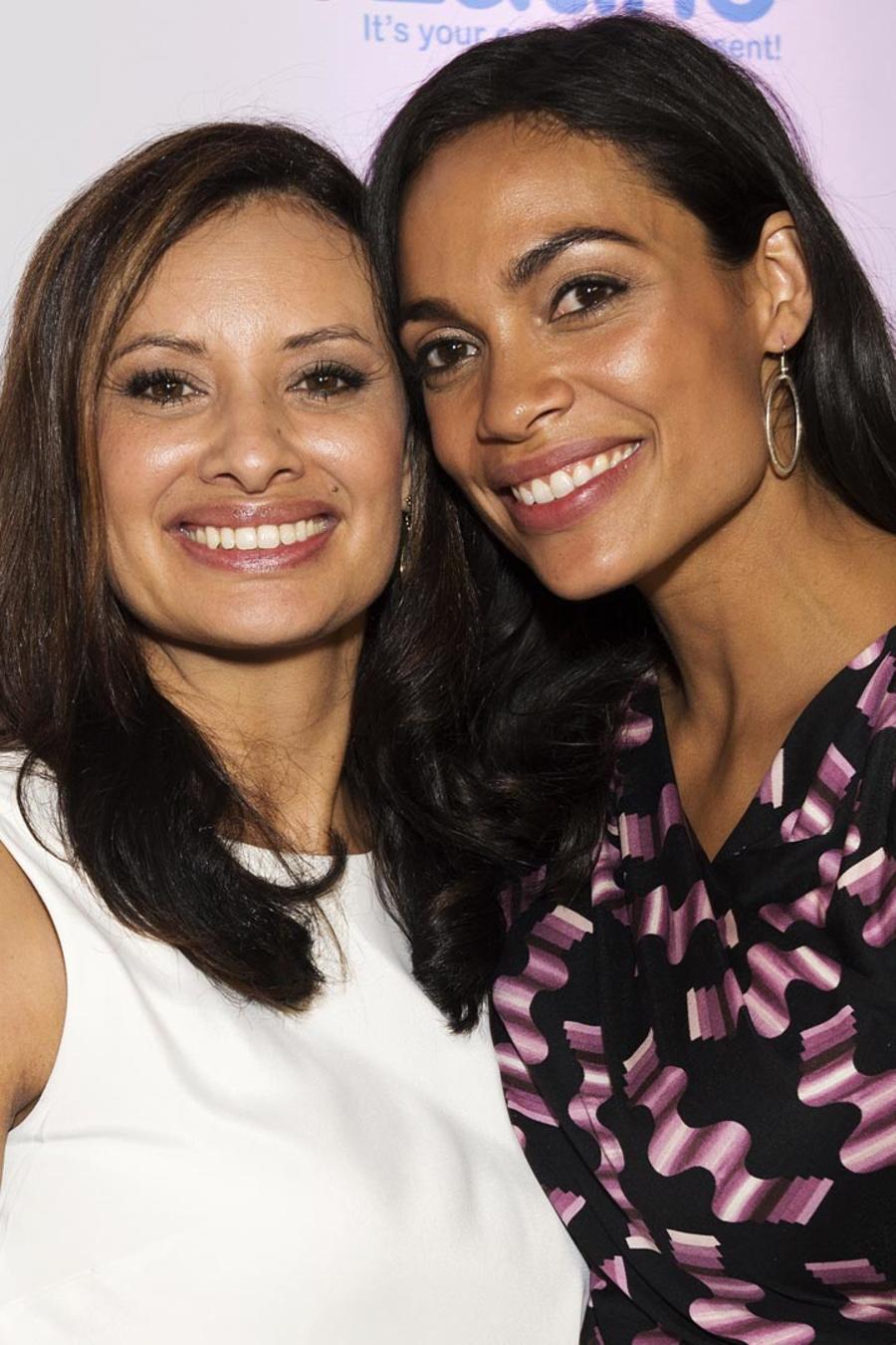 María Teresa Kumar y Rosario Dawson