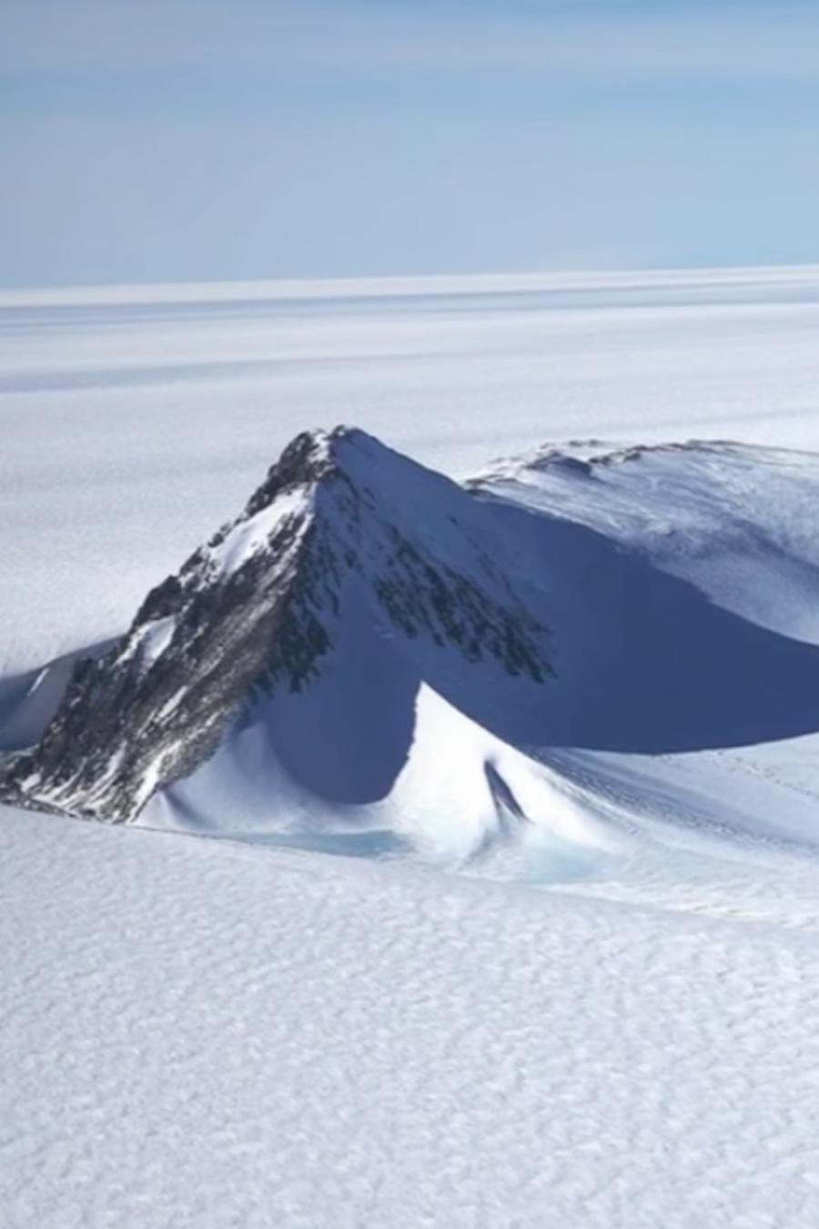 Agujero gigante en la Antártida