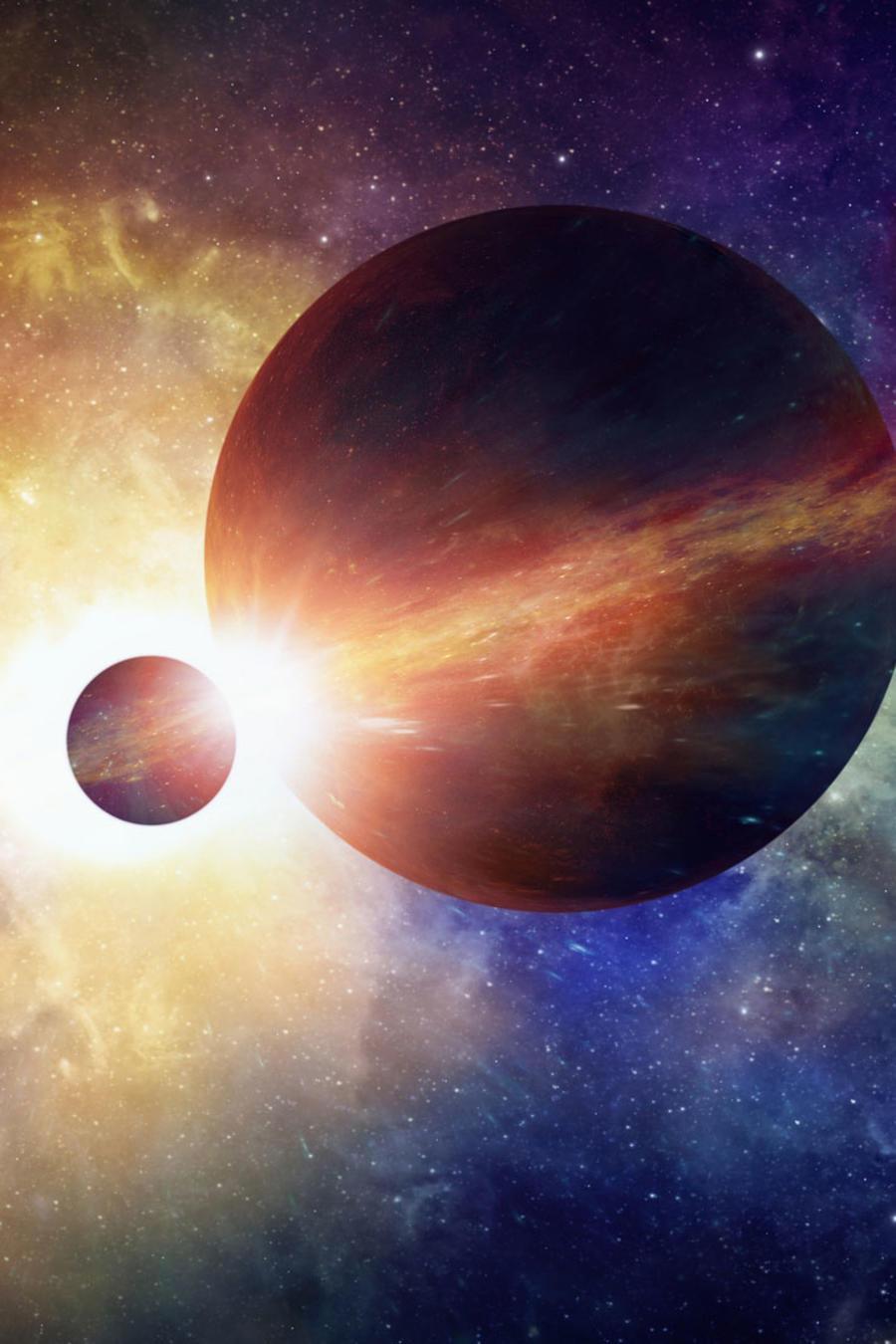 Planetas del espacio exterior