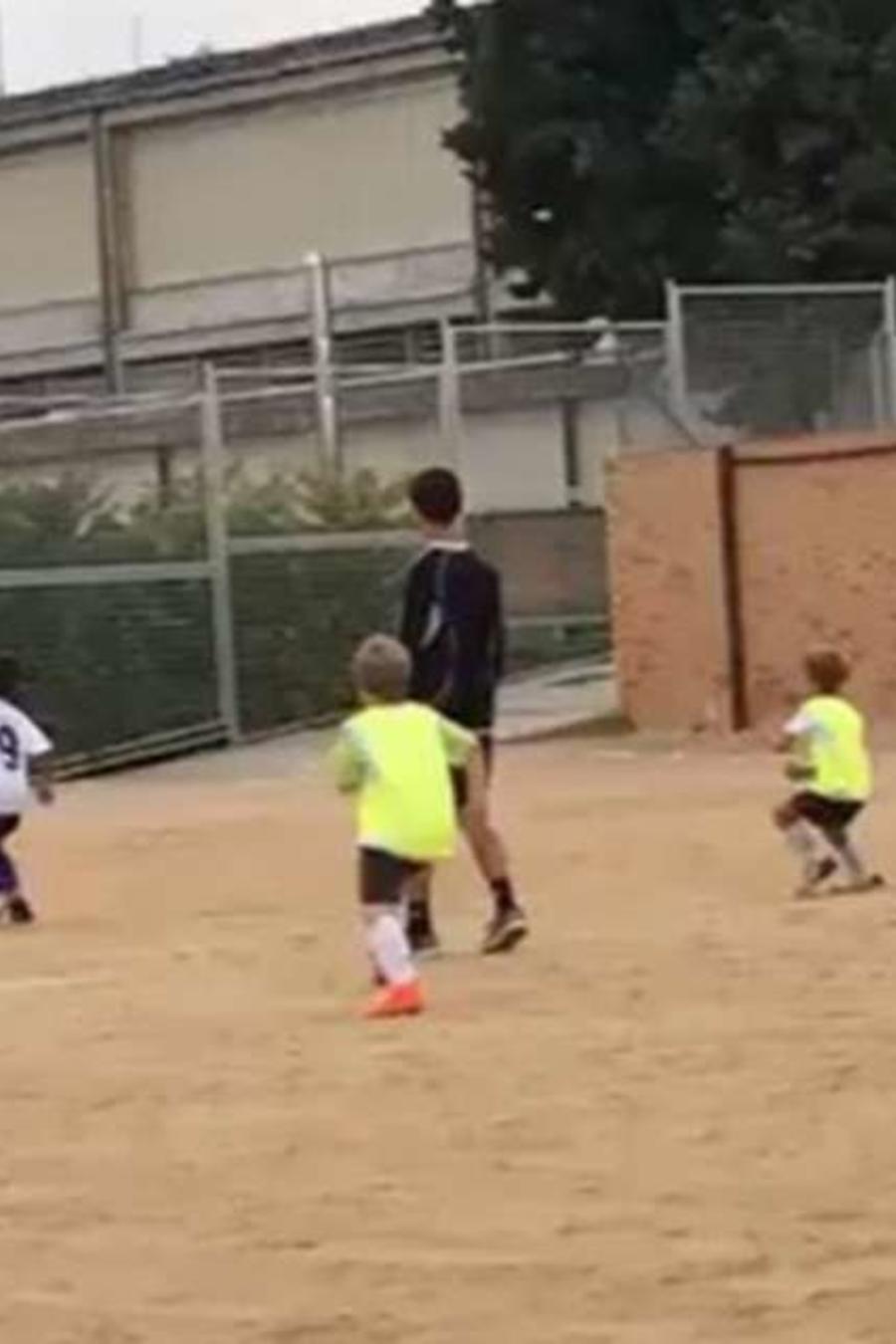 El hijo de Cristiano Ronaldo hizo un golazo