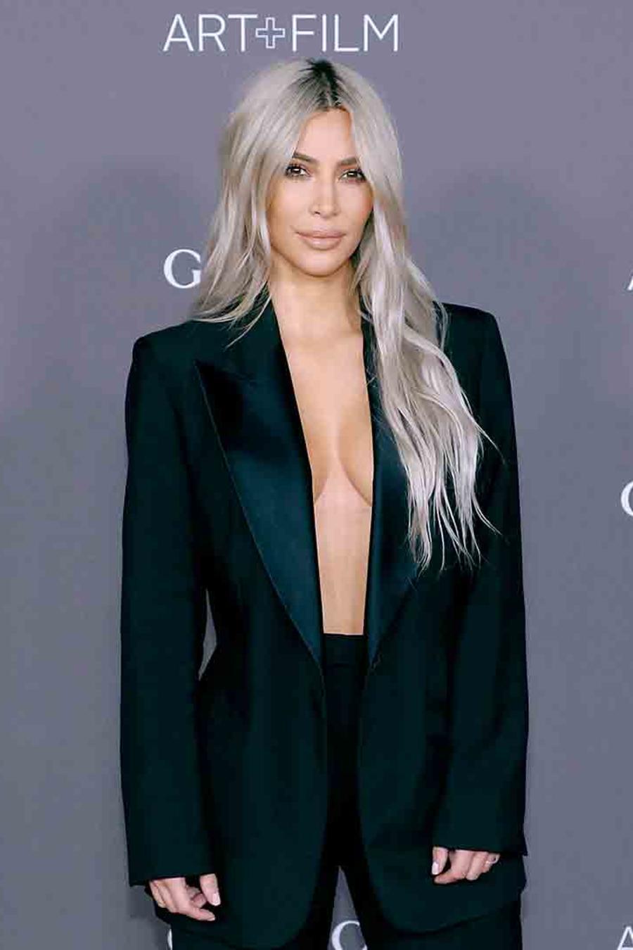 Kim Kardashian's Yeezy Mud Rat 500's