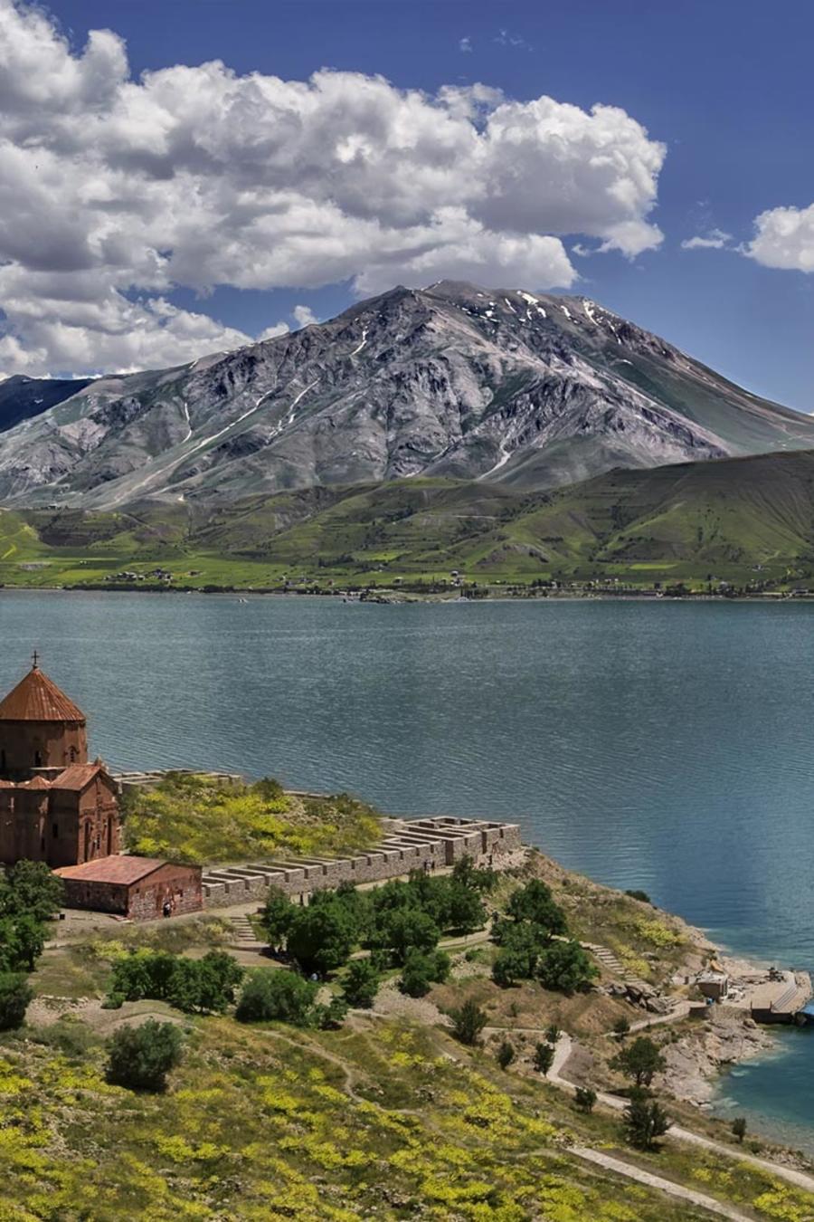 Lago Van en Turquía