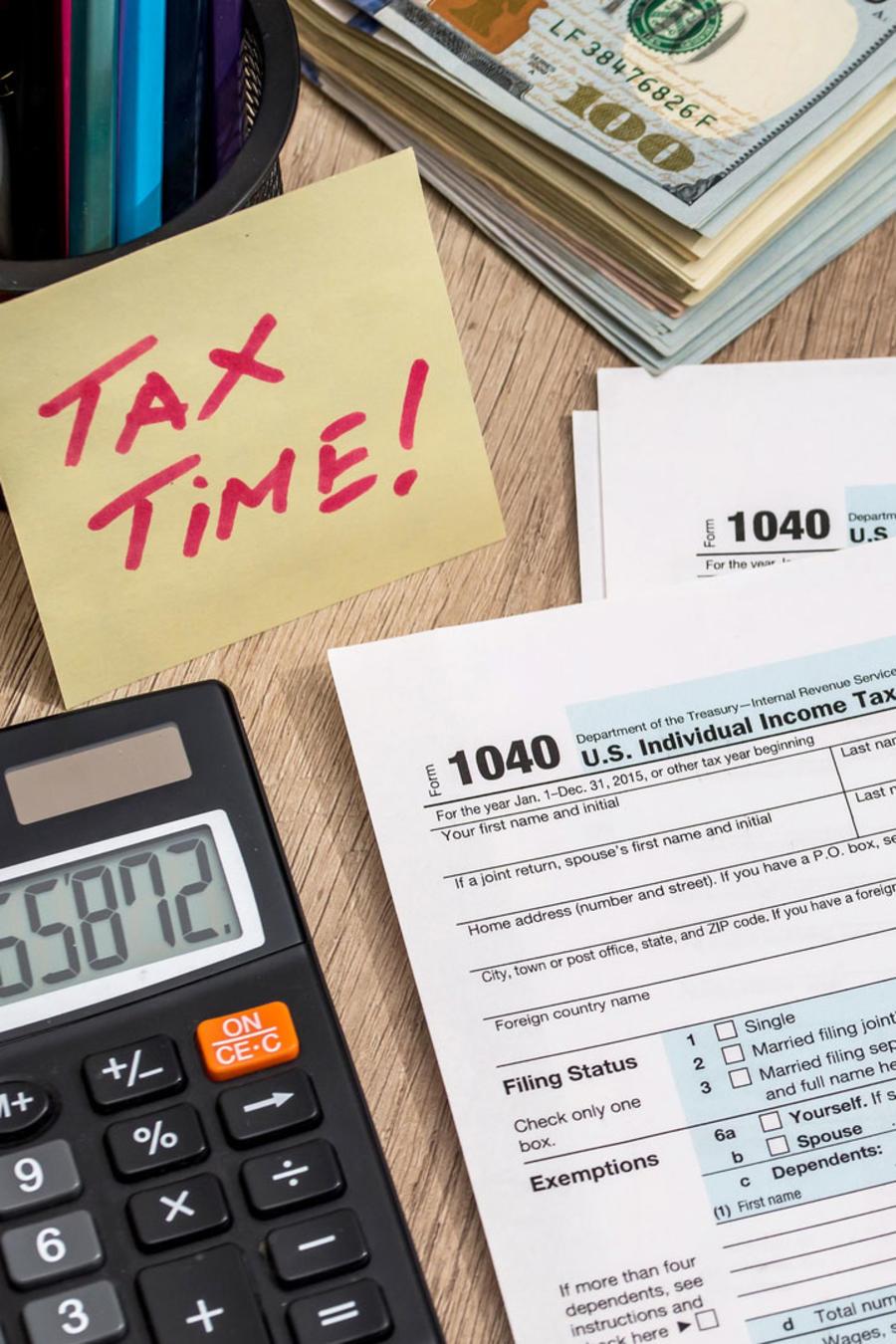 Hojas de impuestos