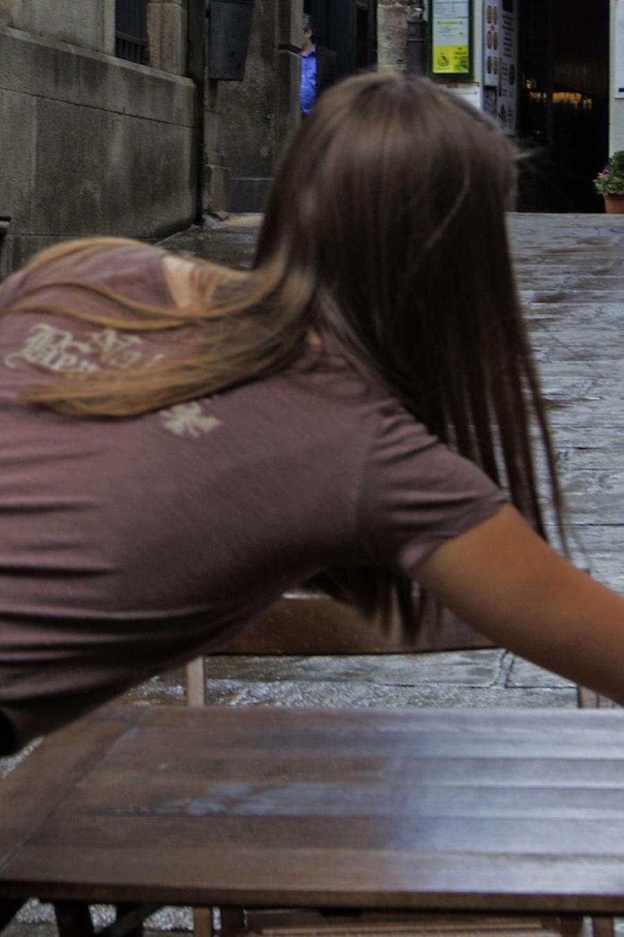 Una mesera, en una imagen de archivo.
