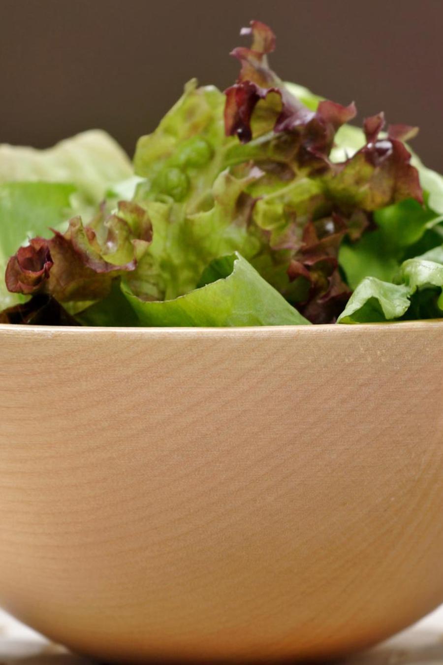 Ensalada de vegetales verdes