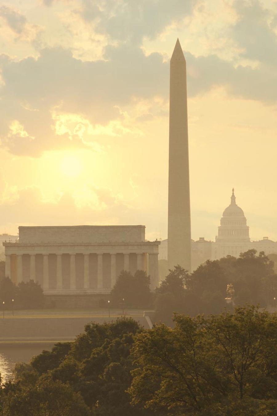 Amanecer en Washington