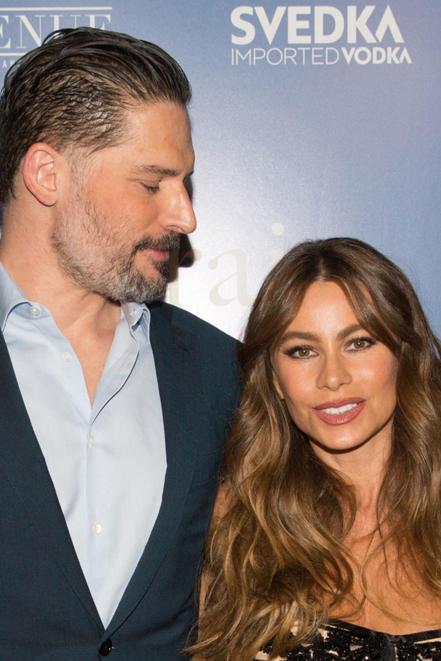 "Joe Manganiello y Sofía Vergara en la premiere de ""The Female Brain"""