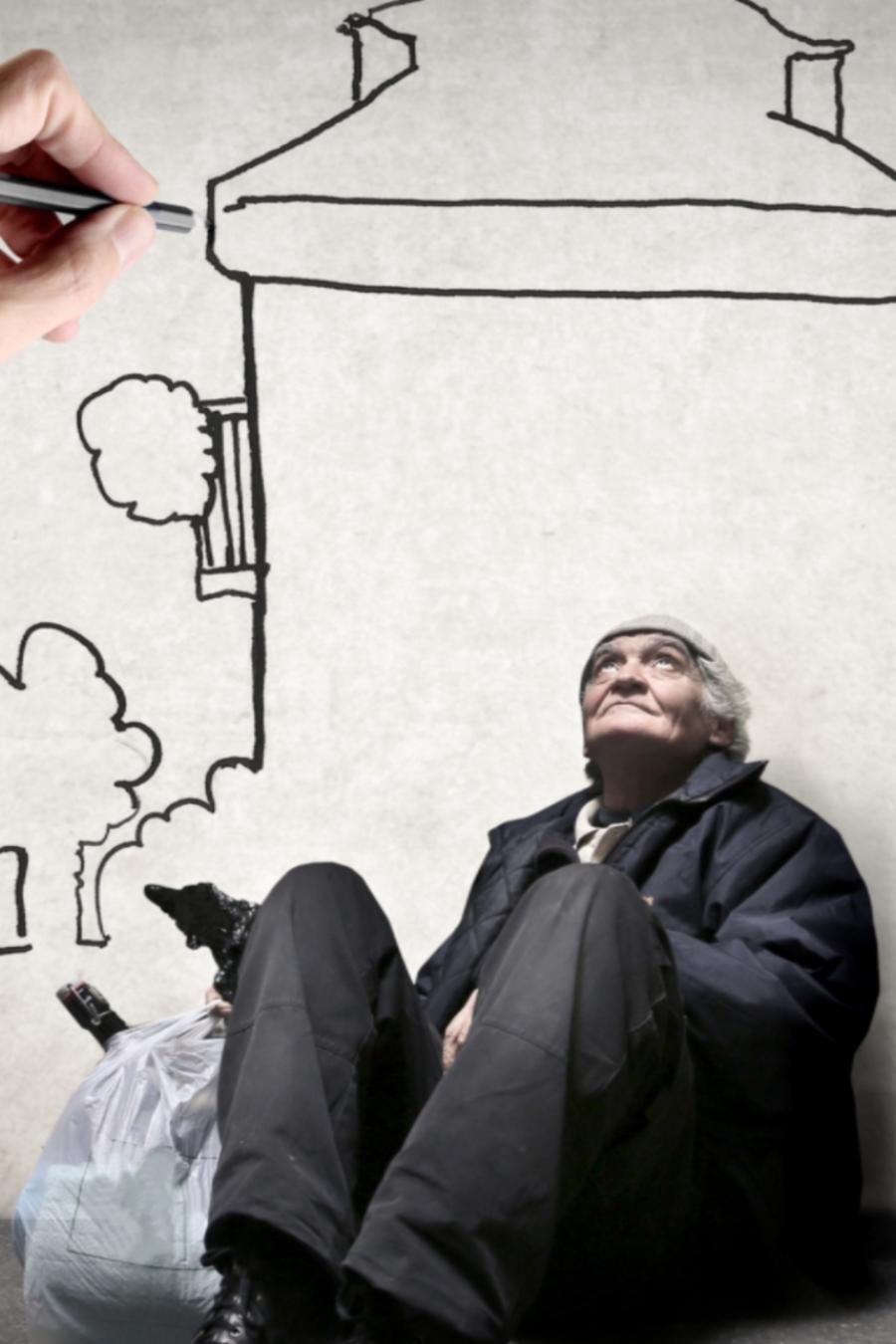 Persona homeless