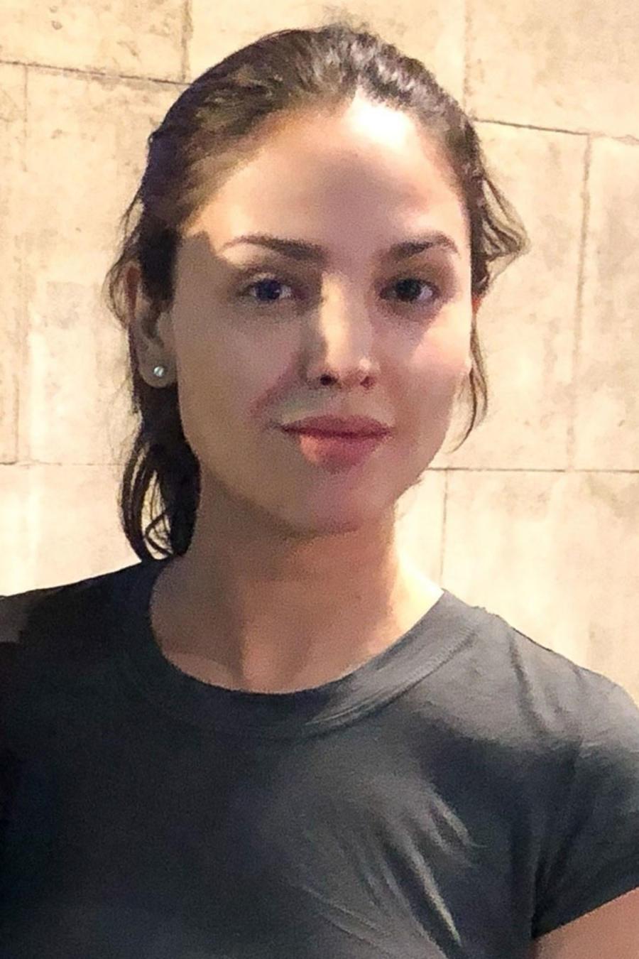 Eiza González sin maquillaje
