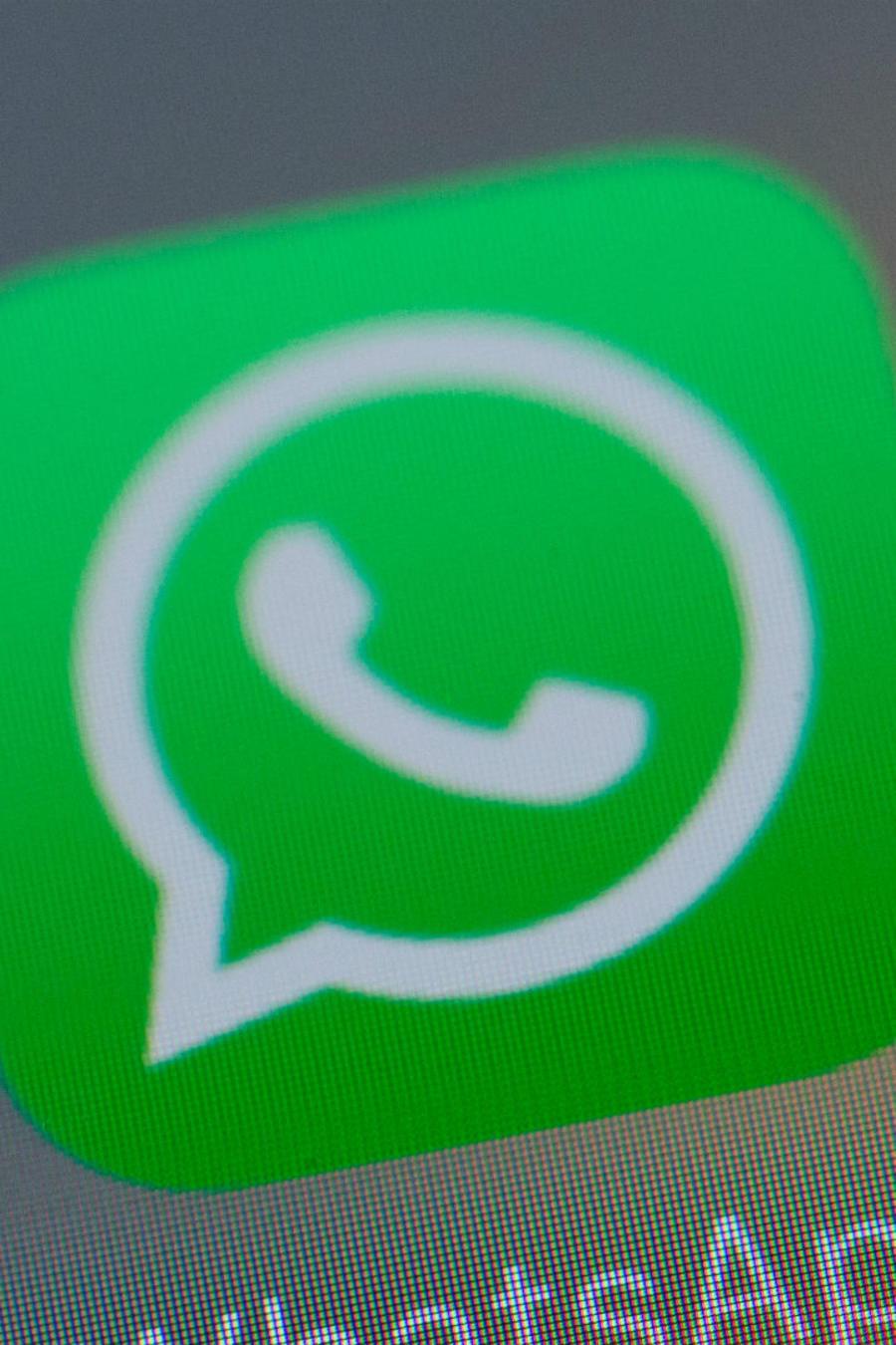 Ícono de WhatsApp en celular