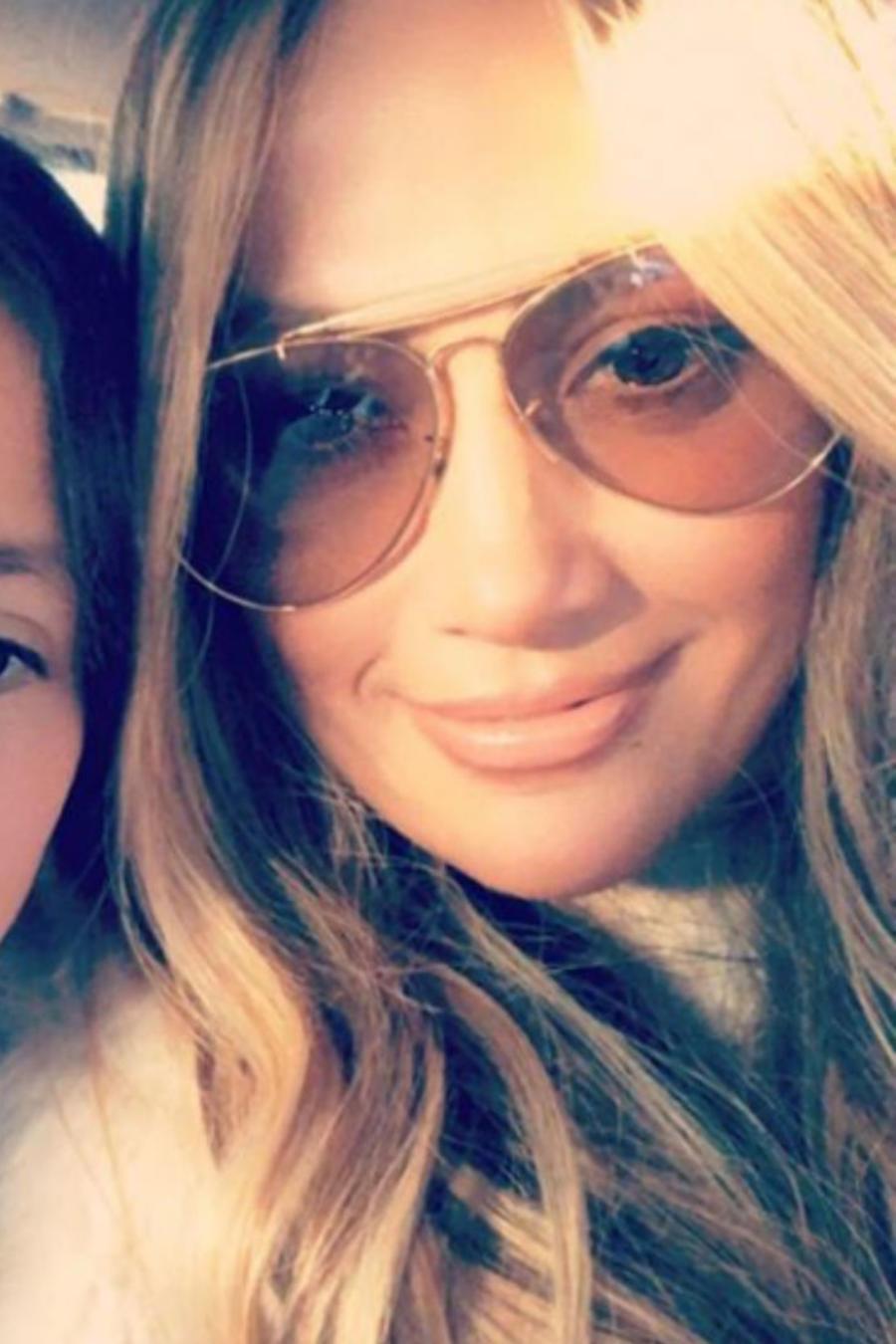 Jennifer Lopez con su hija Emme