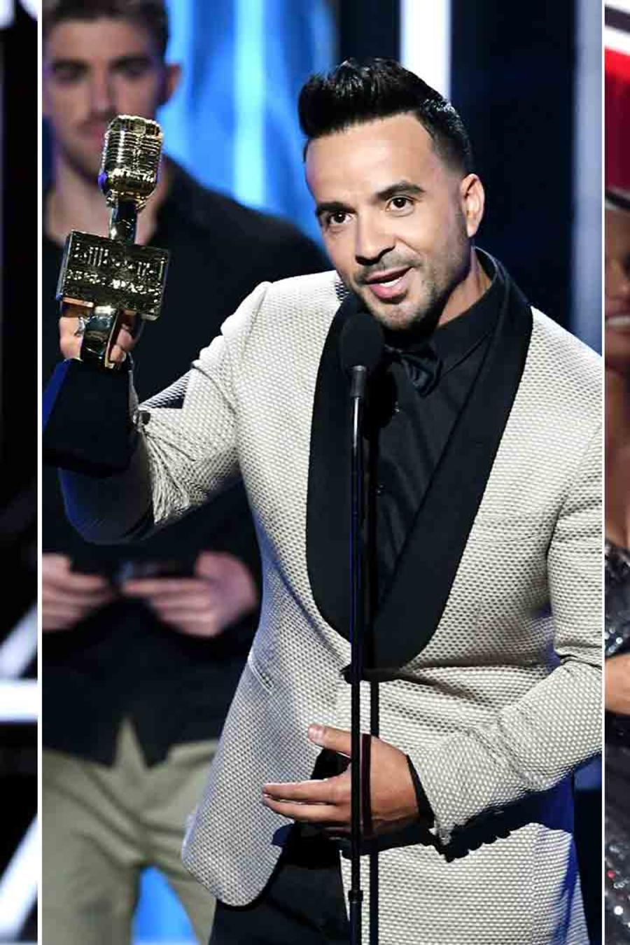 Taylor Swift, Luis Fonsi, Camila Cabello at the Billboard Music Awards 2018