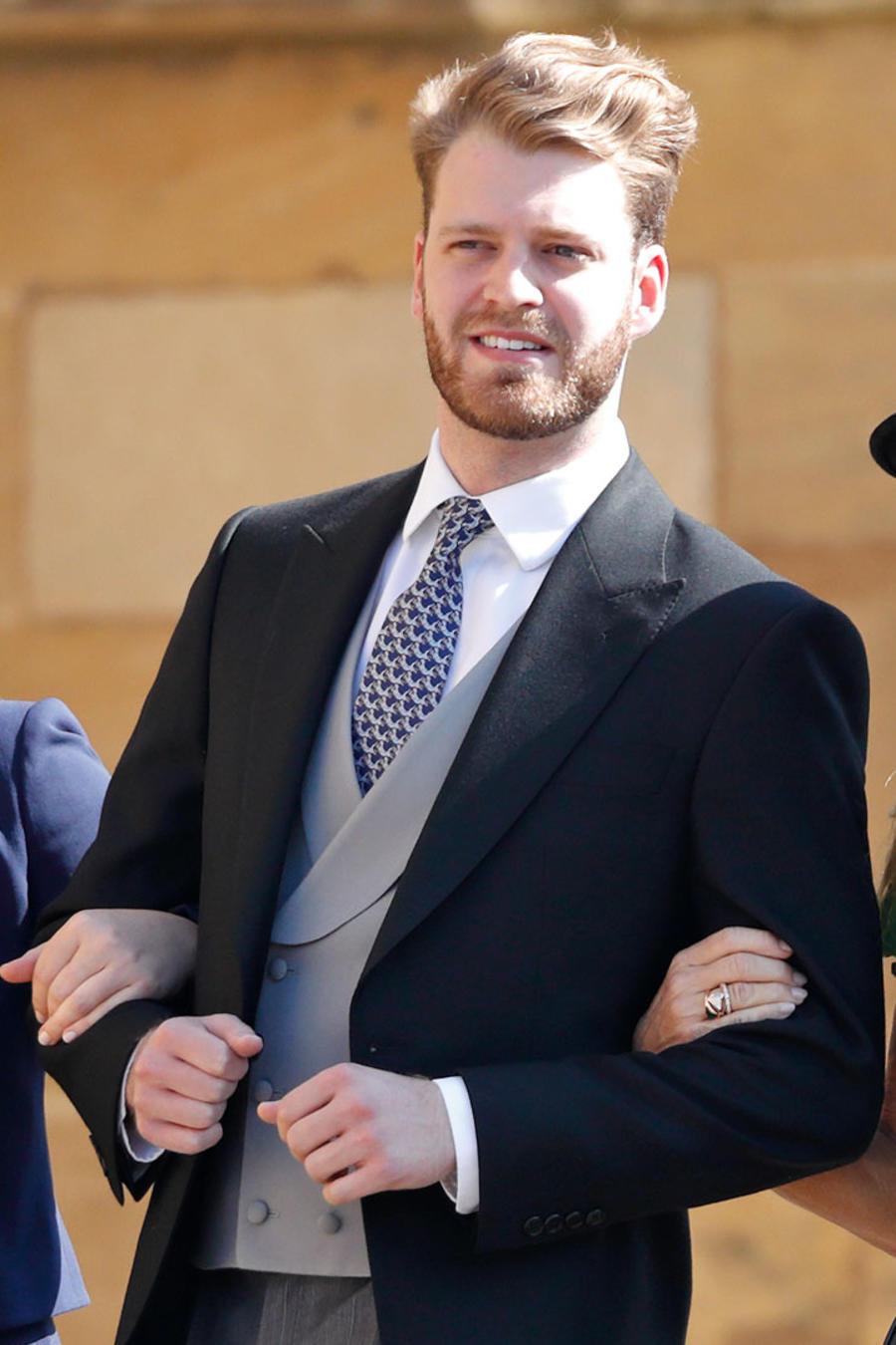 Familia Spencer en la boda del príncipe Harry