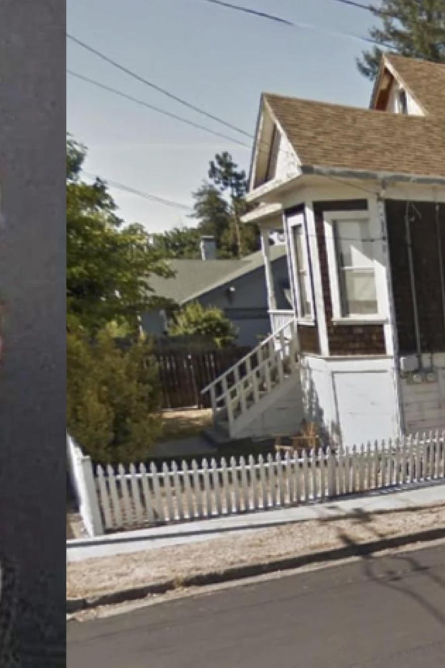 Linda Thomas, y la casa de su hermana Zonna.