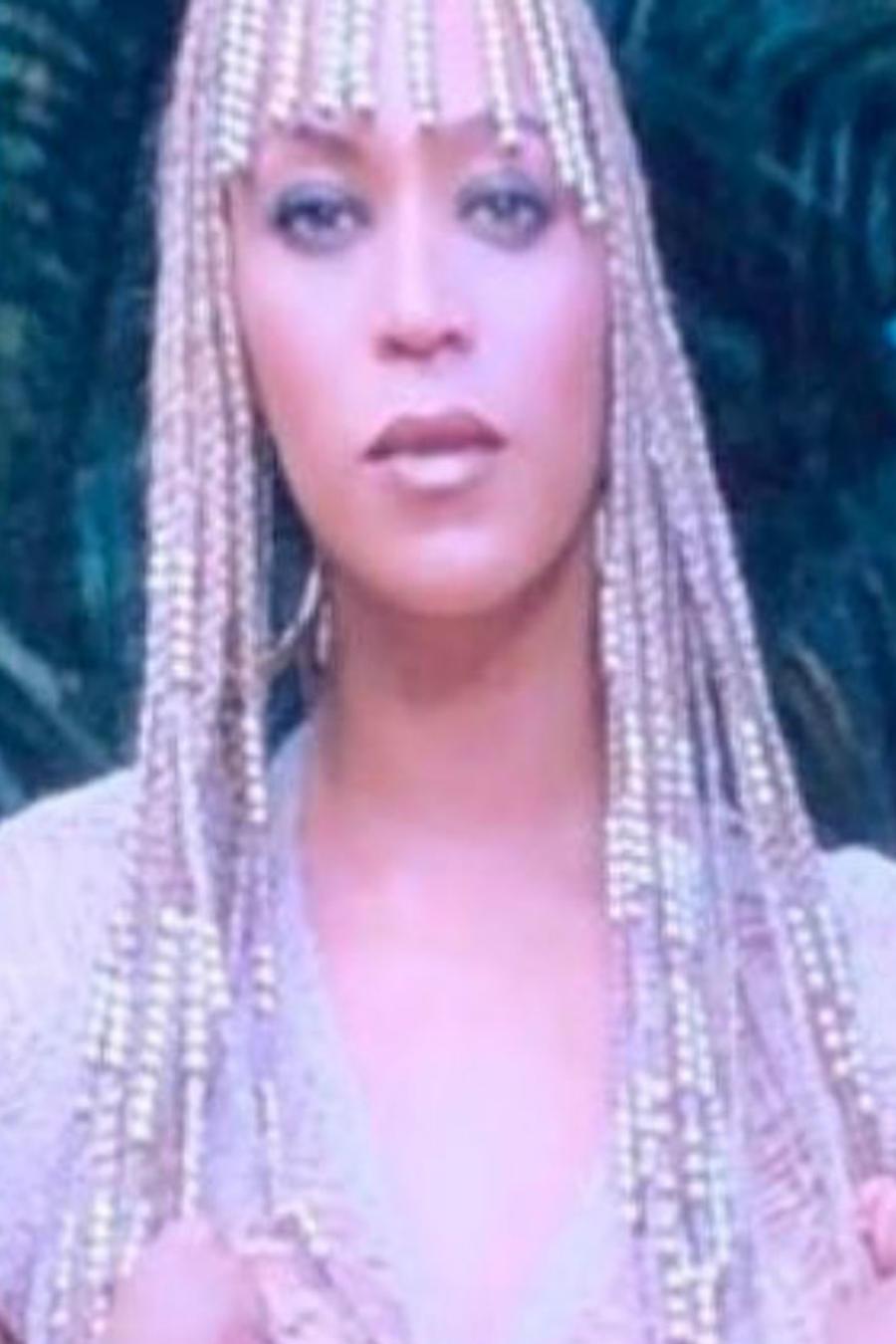 Beyoncé con sus hijos
