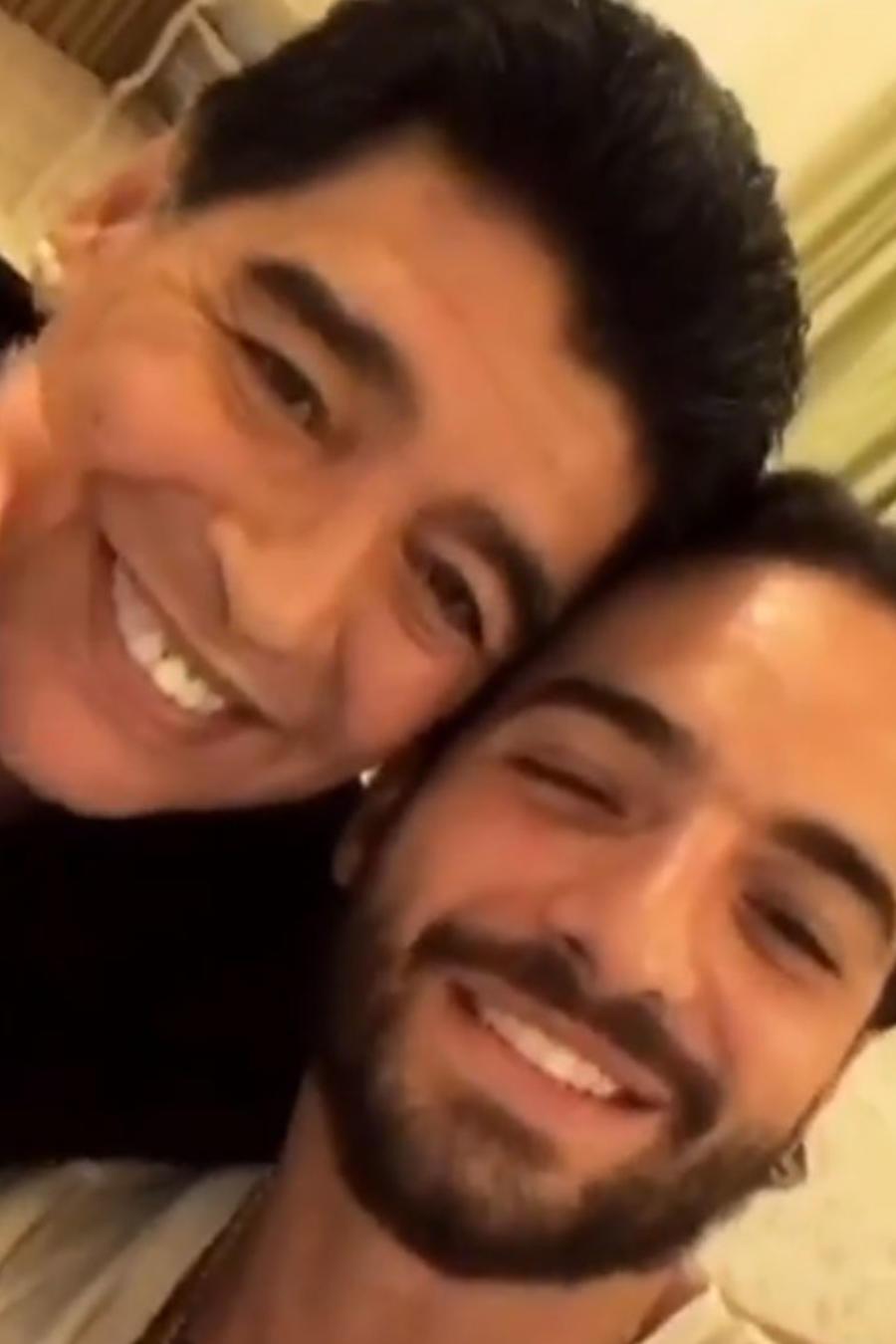 Maluma y Maradona