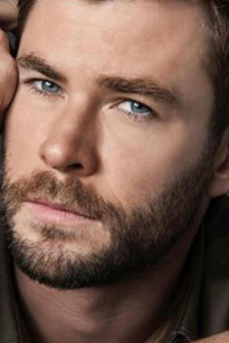 Chris Hemsworth en su campaña para Hugo Boss