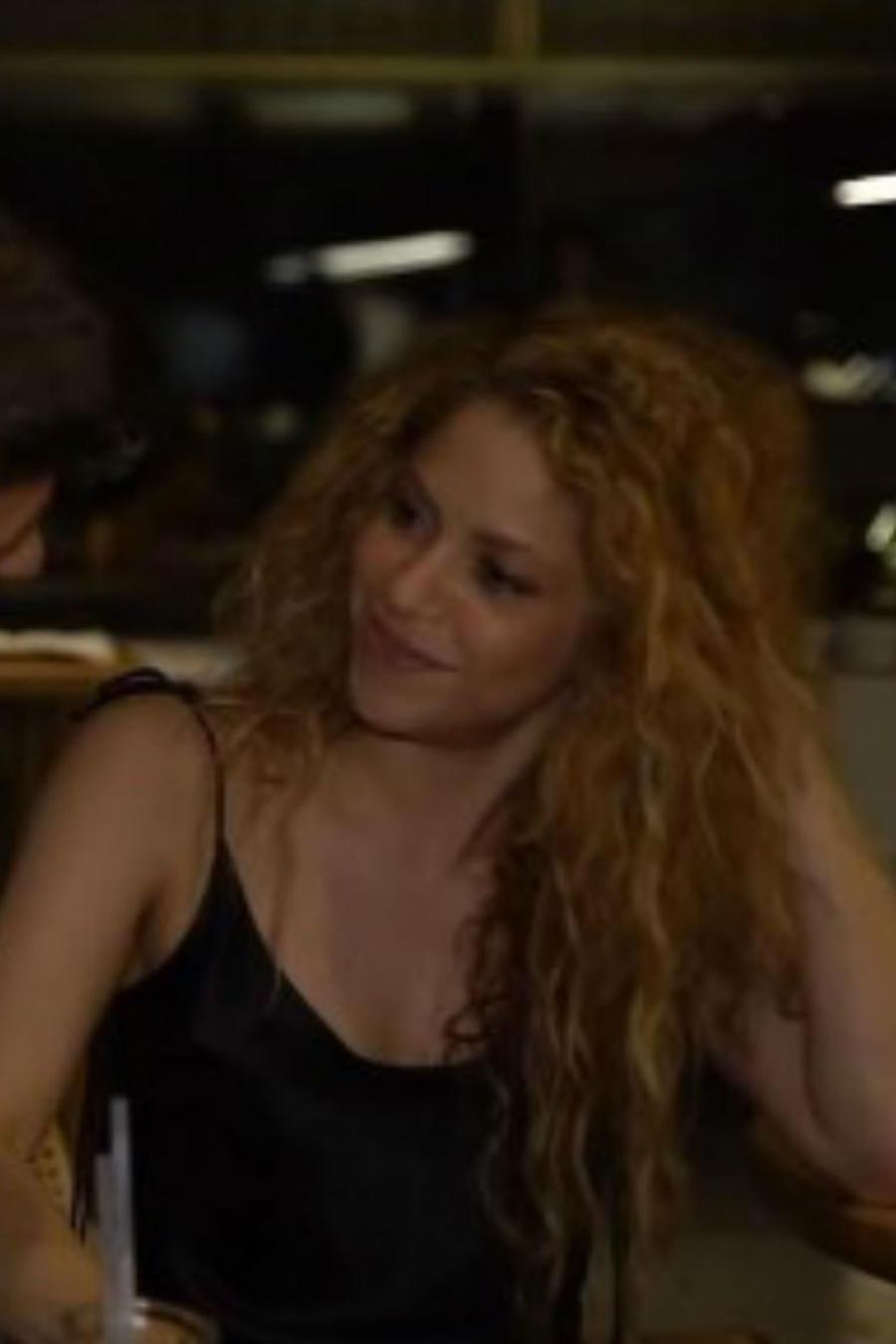 Shakira y Piqué en su gira El Dorado