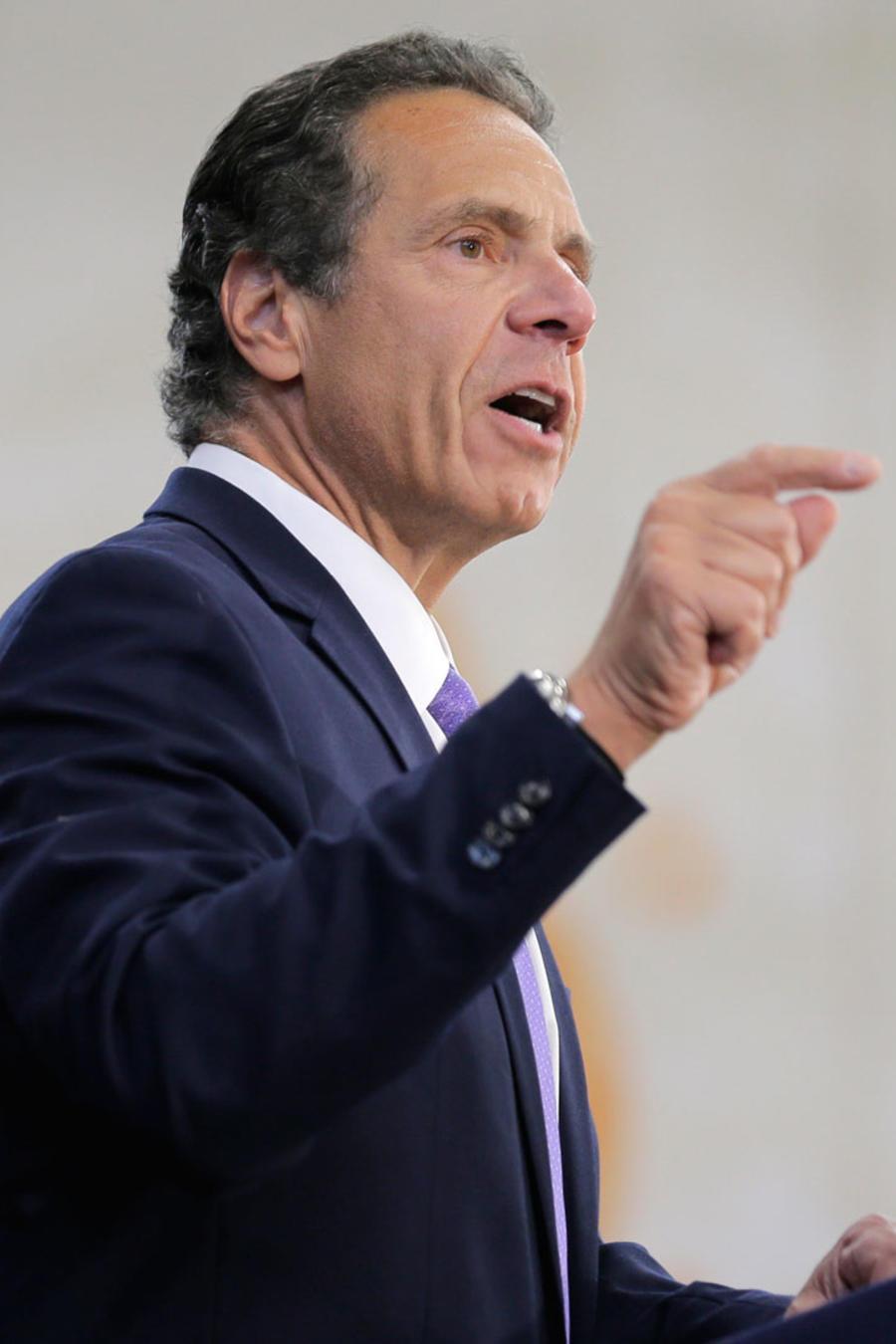Gobernador de NY, Andrew M. Cuomo, en una imagen de archivo de una comparecencia ante la prensa