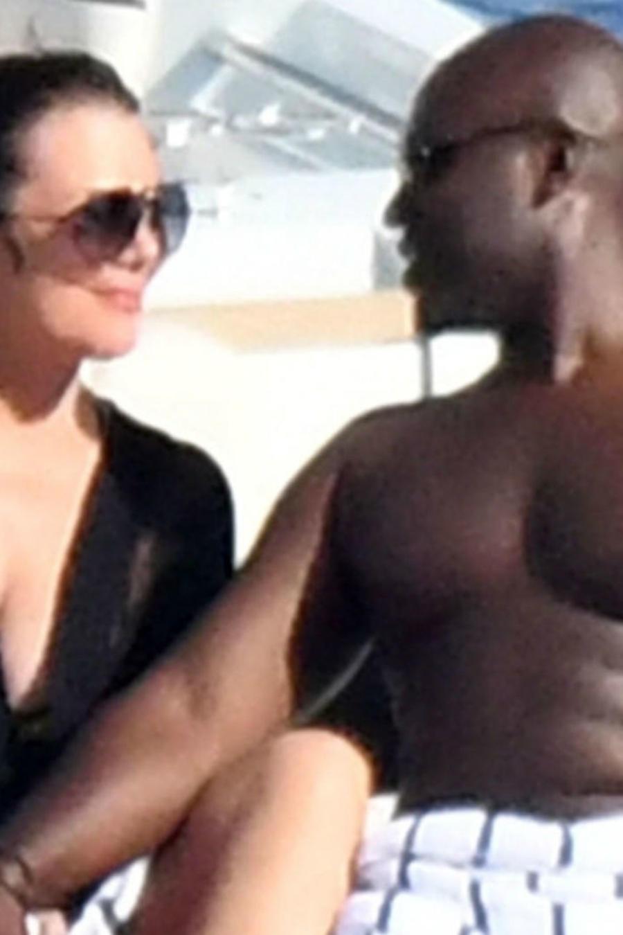 Kris Jenner con Corey Gamble